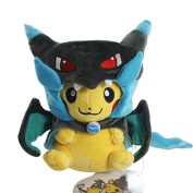 Pokemon Plush 9.2 Inch / 23cm Blue Pikachu Smile Charizard Doll Stuffed Animals Figure Soft Anime Collection Toy