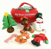 My First Christmas Baby Toy Set of 7