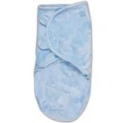 SwaddleMe Original Luxe Velboa Nursery Blanket, Blue Cars, Small