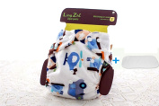 LINGZHI Winter Thickened Soft Breathable Newborn Baby Cloth Nappy Washable