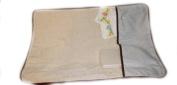 aBaby Changing Pad Mat, Hampton Stripe Blue