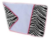 aBaby Changing Pad Mat, Zebra/Hot Pink