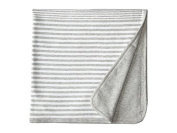 Vince Kids Stripe Blanket (Heather Steel) Accessories Travel
