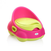 Lil' Jumbl Baby Potty -Perfect Mommy's Helper for Potty Training -Pink