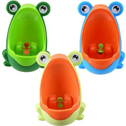 Lovely Frog Children Potty Toilet Training Kids Urinl for Boys Pee Trainer Bathroom