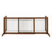 Large Bay Isle Freestanding Pet Gate