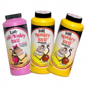 Anti Monkey Butt Powder with Calamine, Set of 3