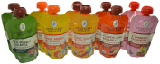 Peter Rabbit Organics 100% Pure Baby Food Variety, 130ml Pouches