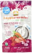 Happy Baby happy creamies Veggie & Fruit Snacks - Strawberry Raspberry & Carrot - 30ml