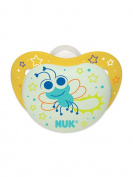 NUK Night Glow, Glow in the Dark Pacifiers in Assorted Colours and Styles, 0-6 Months