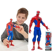 HOT Genuine Spiderman 3D doll model,Titan Hero Large Marvel Action Figure Boys 30cm Spiderman Kids Child Toys high quality