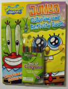 Spongebob Squarepants Bundle (C) 96 Page Colouring & Activity Book. Plus One Pack of Twist-Up Crayons. Nickelodeon