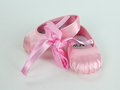Pink Ballerina Slippers -Fits 46cm American Girl Dolls, Gotz, Our Generation Madame Alexander and Others.