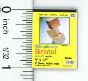 Dollhouse Miniature Bristol Smooth Surface Pad by Cindi's Mini's