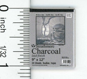 Dollhouse Miniature Charcoal Drawing Pad by Cindi's Mini's