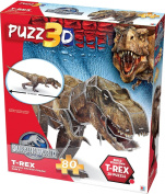 Jurassic World T-Rex 3-D Puzzle One Size Multi