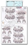 Echelon Fine Decal 1:35 WWII Soviet BT-7 Model 1935 1937 51st & 52nd #D356162