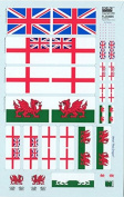 Echelon Fine Decal 1:35 UK Antenna Flags & Stickers Part 2 #FL354005