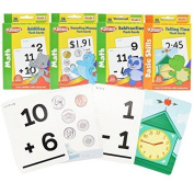 Playskool Math Flash Cards with Stickers - 4 Pack