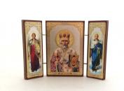 Saint Nicolas Russian Orthodox Icon