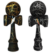 2-PACK - KENDAMA TOY CO. - The Best Pocket Kendama For Tonnes Of Fun (not full size) - Fancy Colours