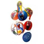 Misha Set Of Six Toy Spiderman Inflatable Tap Ball 22Cm + Racket