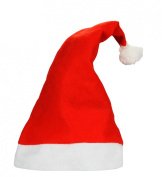 Set of 4 Santa Christmas Hat have Nice Festive Holiday Hat