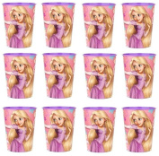 Disney Tangled Princess Rapunzel Reusable Cups (12x) ~ Birthday Party Supplies Plastic Favours
