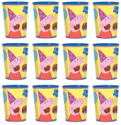 Peppa Pig Party Cup Reusable Cups (12x) ~ Birthday Party Supplies Plastic Favours