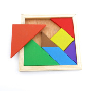 1 pcs Puzzle Game 05347 Colourful Tangram Sequential Puzzles Toys Jouets