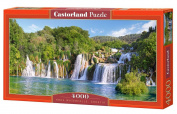 Krka Waterfalls, Croatia, 4000 Piece By Castorland Puzzle