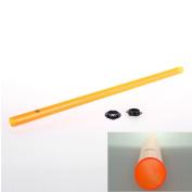 Modified Plastic Barrel Extension for Nerf Gun Colour Orange