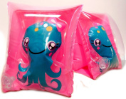 Play Day Ages 3-6 Clearly Octopus Pink Armband Water Wings