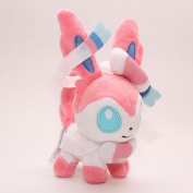 "FSTY 18cm 7"" Pokemon Sylveon Plush Toy Stuffed Doll"