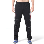 4ucycling Men's Windproof Athletic Trousers for Outdoor and Multi Sports