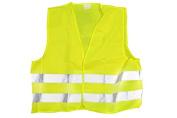 Hi vis visibility vest XL Flouro yellow waistcoat