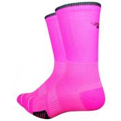 Defeet - Defeet Cyclismo neon pink socks
