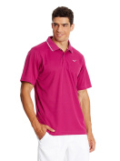 Mizuno Men's Drylite Performance Pique Golf Shirt