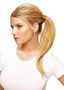 New Style Pony Tail (switch) Hair Extension Wrap Around Tail Hides Grips In Our Famous Honey Blonde Colour