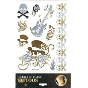 Tattoo Sticker Skin Tattoo Body Tattoo Temporary Tattoo Tattoos Metallic Designs - Motif 1