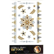Tattoo Sticker Skin Tattoo Body Tattoo Temporary Tattoo Tattoos Metallic Designs - Motif 9