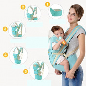 Do.BOMRVII Toddler Front Carriers Slings Wrap Adjustable 2in1 Backpack Infant RIder Sling
