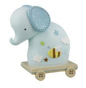 Baby Gift - Blue Elephant Money Box