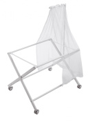 PETIT PRAIA Tul Mosquito Net with Support for Bassinet