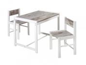 Schardt 019995602 Sammy Shabby Chic Table and Chairs