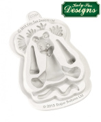 Lion Silicone Mould Katy Sue Designs Sugar Buttons for Clay, Cake Decorating and Sugarcraft