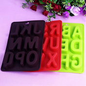 SwirlColor Silicone Alphabet Letter Ice Cube Mould Bake Tray Mould Set