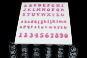 Windsor Clikstix Full Set Groovy Lettering & Numbers