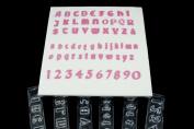 Windsor Clikstix Full Set Gothic Lettering & Numbers