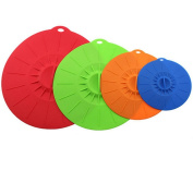 Tenn Well Silicone Suction Lids-Reusable Food Saver Covers For Bowls